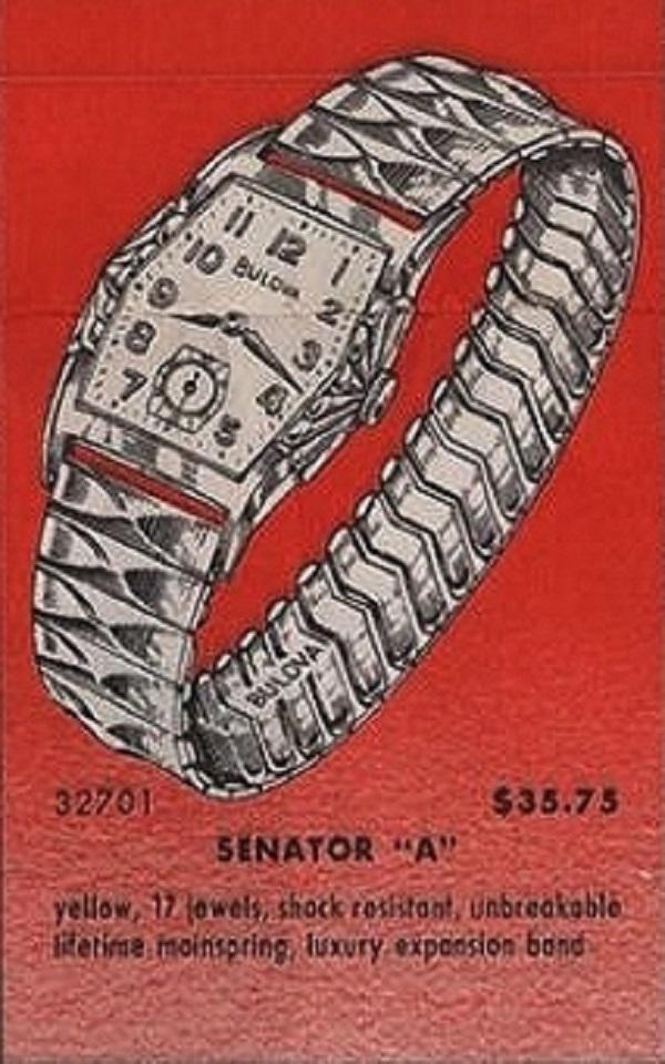 """1961 Senator """"A"""" - Ad"""