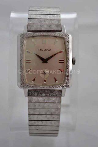 Geoffrey Baker 1963 Bulova Senator Watch 11 21 2013