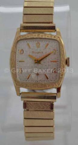 Geoffrey Baker 1965 Bulova Watch 11 21 2013