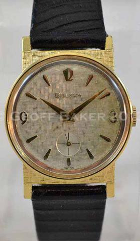 Geoffrey Baker 1965 Bulova watch 6/18/2013