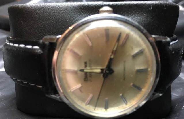 1968 Aerojet Bulova watch