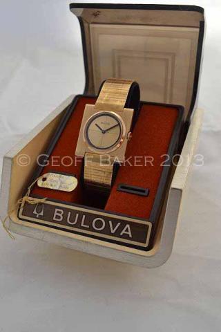 Geoffrey Baker 1968 Bulova President Watch 12 04 2013