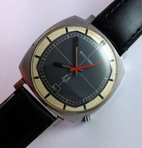 1970 Accutron Calander CK