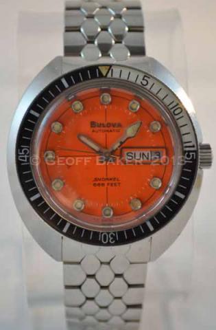 1971 Bulova Oceanographer V Snorkel Geoffrey Baker 03 05 2013