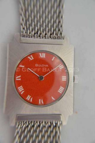 Geoffrey Baker 1971 Bulova Sabre C Watch 11 21 2013