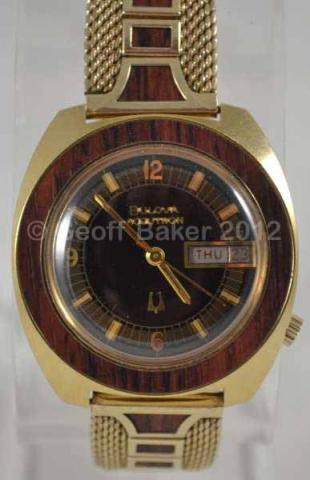 1973 Bulova NOS Accuron Woody Geoffrey Baker 07032012