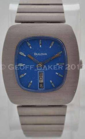 Geoffrey Baker 1973 Bulova Jet Star C Blue Watch 11 29 2013  ----2