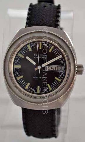 Geoffrey Baker 1973 Bulova Oceanographer Watch 12 04 2013