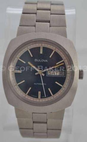 Geoffrey Baker 1973 Bulova Senator Watch 11 29 2013