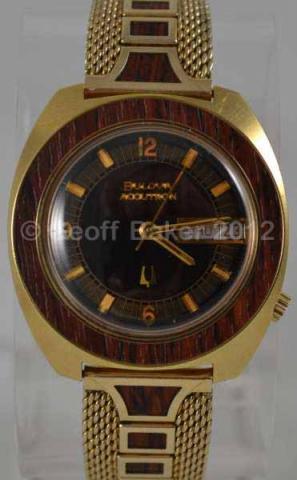 1974 Bulova Accutron Woody Geoffrey Baker 7 3 2012
