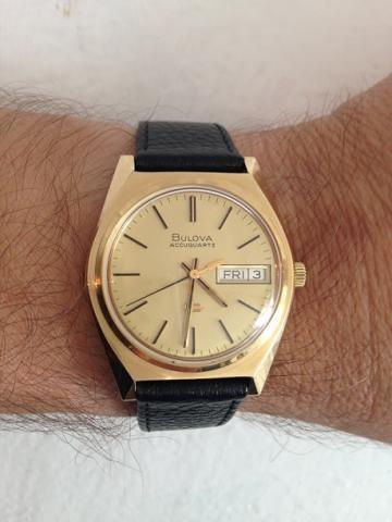 Bulova watch 1974 Accuquartz