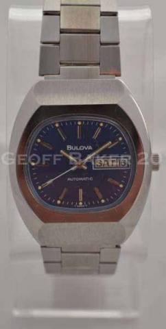 Geoffrey Baker 1976 Bulova 11654 Watch 11 30 2013