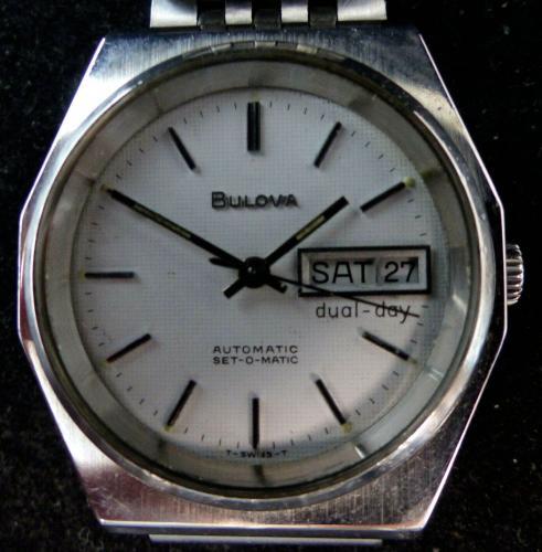 1978 Bulova Set-O-Matic watch