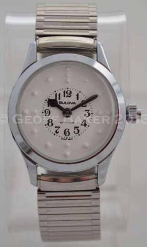 Geoffrey Baker 1979 Bulova Automatic Braille Watch 11 30 2013