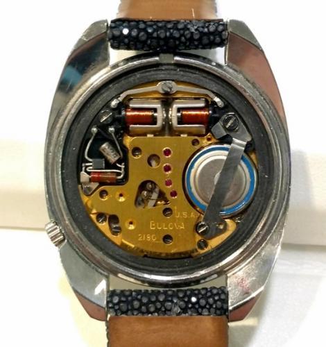 Bulova watch movement