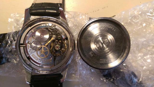 1963 Bulova watch