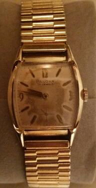 1960 Minute Man A Bulova watch