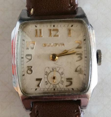 1933 Bulova Trident watch