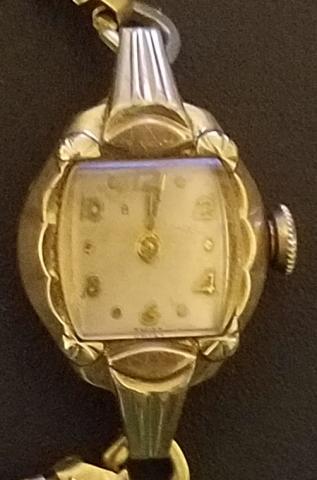 1956 Bulova Iris watch