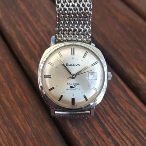 1967 Bulova Sea king watch