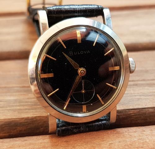 1956 Bulova Non Conforming watch