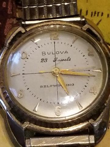 1958 Bulova 23 watch