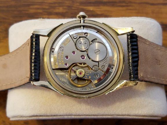 [field_year-1957] Bulova Watch Movement