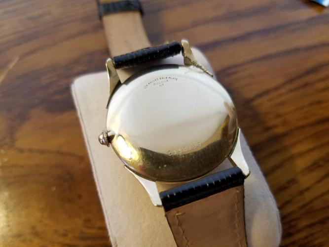 [field_year-1957] Bulova Watch Case Back