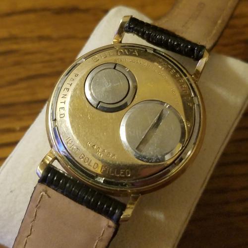 [field_year-1963] Bulova Accutron Case Back