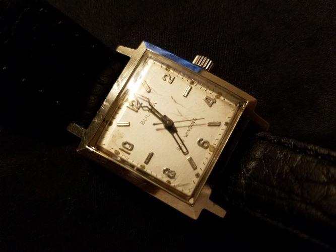 1956 Albatross Bulova Watch