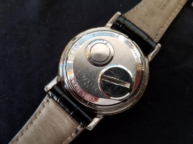 [field_year-1965] Bulova Accutron Watch Caseback