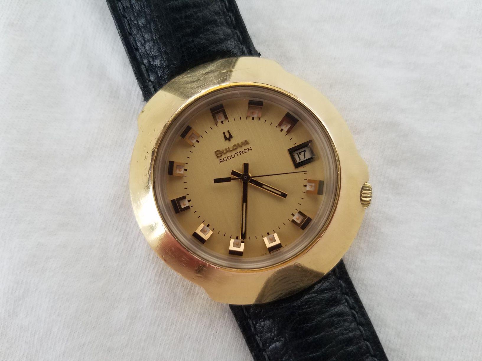 1970 Bulova Accutron Calendar Watch