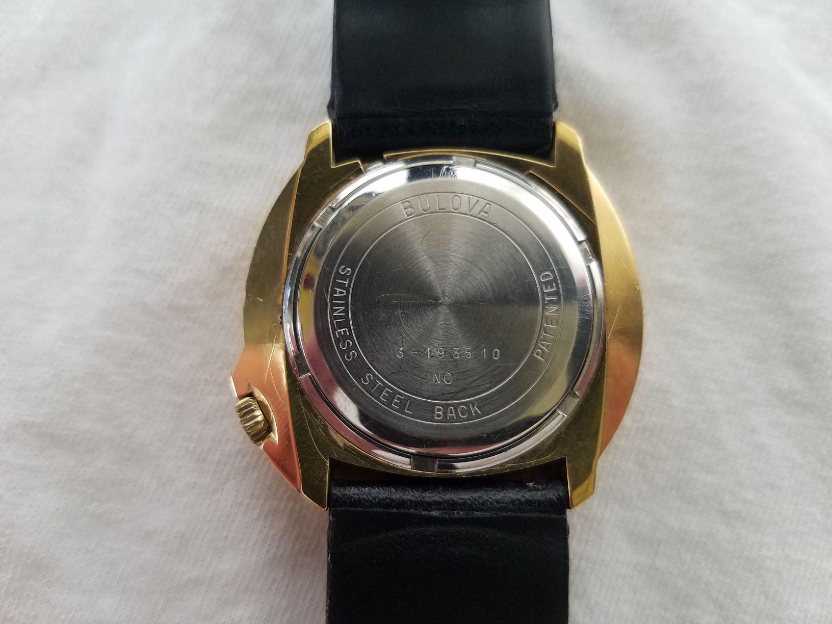 [field_year-1970] Bulova Watch Caseback