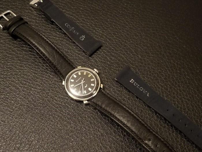 [field_year-1967] Bulova Watch w/ Corfam Strap