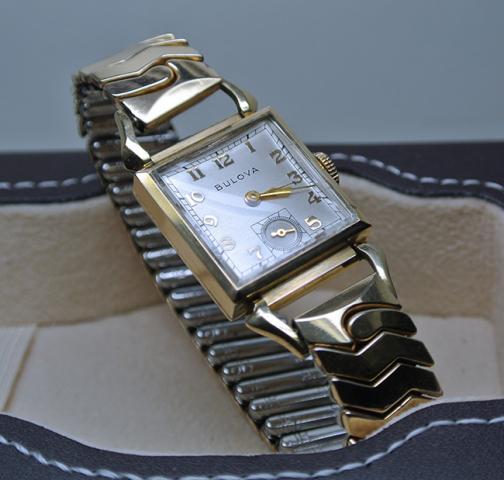 1949 Bulova Conrad watch