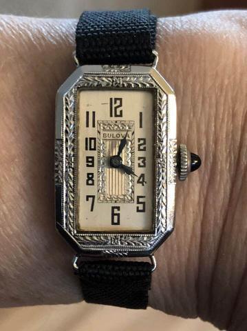 1929 Bulova Baroness watch