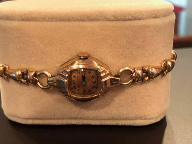 1946 Bulova Thelma watch