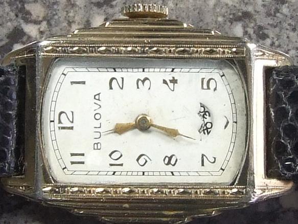 1935 Bulova President watch