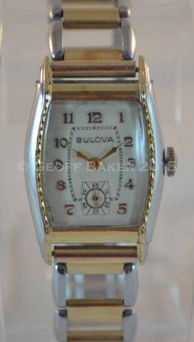 Geoffrey Baker 1932 Bulova Ambassador watch 02172016
