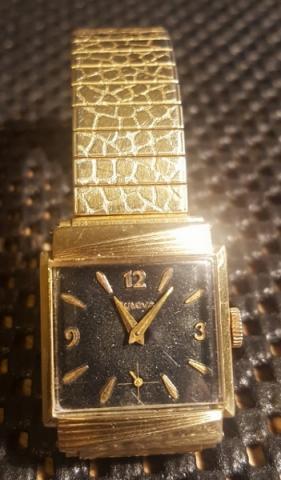 1961 Bulova watch face