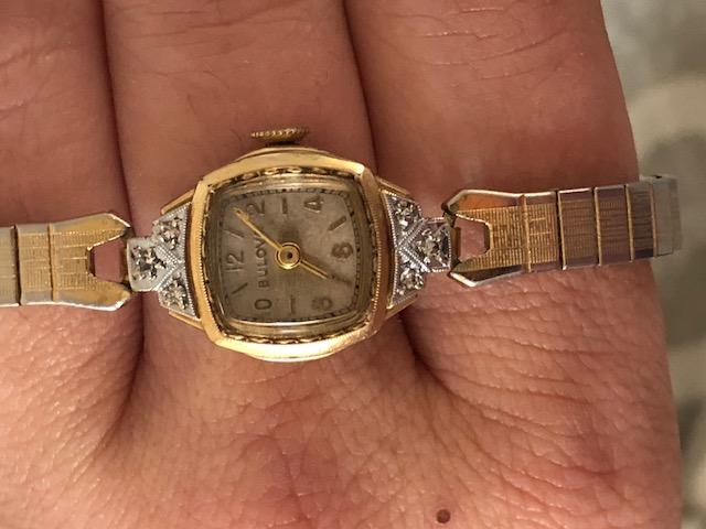 1937 Lady Bulova F watch