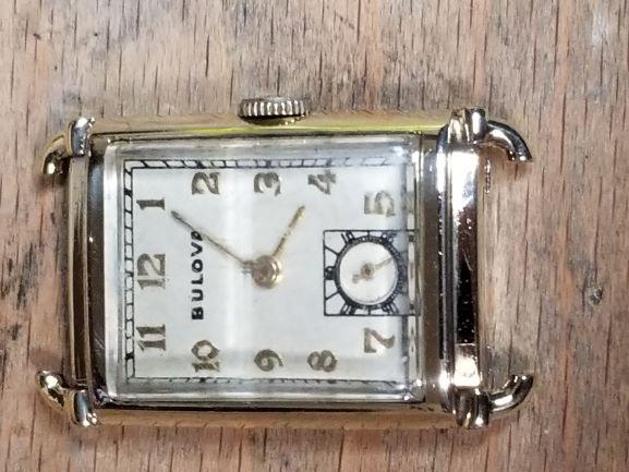 1940 Bulova Presidetn D watch