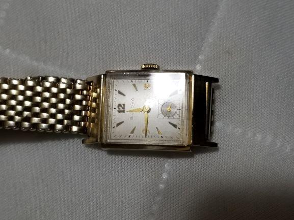 1947 Bulova Douglas B watch