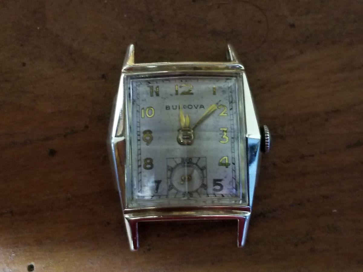 1948 Bulova Andrew watch