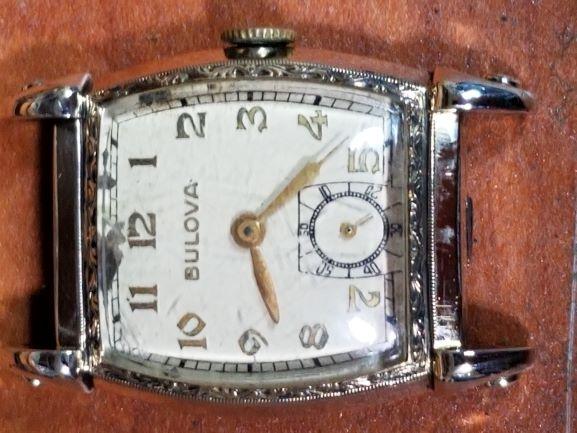 1949 Bulova Viking watch