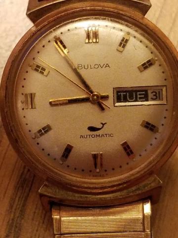 1970 Bulova Sea king watch