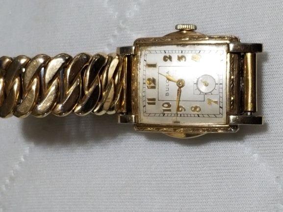 1950 Bulova Treasurer watch