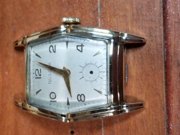 1952 Bulova Nugent watch