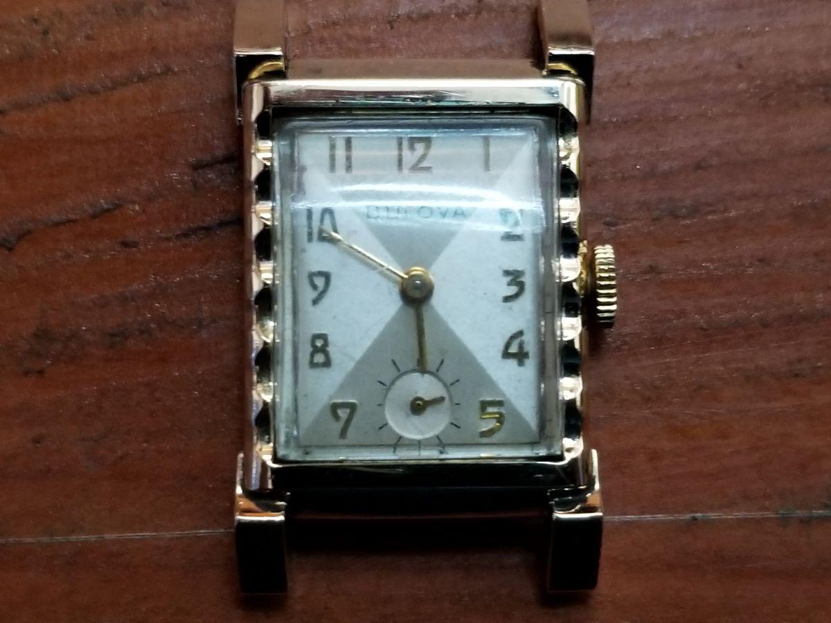 1953 Bulova Academy Award ZZ watch