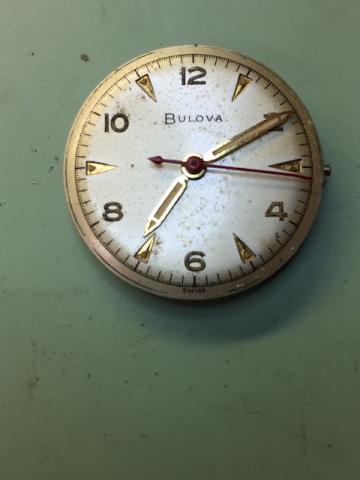 1953 Bulova Watertite F  watch